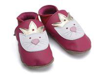 STARCHILD - Kožené topánočky - Princess Paws Fuchsia - Kids - veľkosť XS 24-25 (2-3 roky)