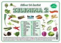Súbor 24 kariet - zelenina 2 -  Petr Kupka