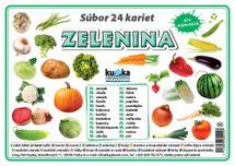 Súbor 24 kariet - zelenina -  Petr Kupka