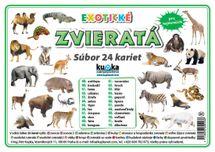 Súbor 24 kariet - zvieratá (exotické) -  Petr Kupka