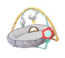 TAF TOYS - Hracia deka & hniezdo s hudbou pre novorodencov
