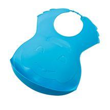 THERMOBABY - Plastový podbradník, modrý
