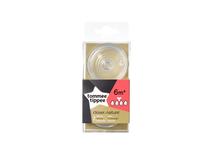 TOMMEE TIPPEE - Náhradný cumlík C2N hustá strava, 6+m, 2ks