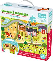 TREFL - LITTLE PLANET Giga puzzle - Na vidieku_SK
