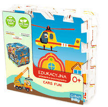 TREFL - Penové puzle Cars fun
