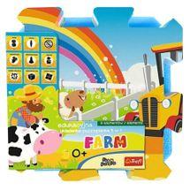 TREFL - penové puzzle Farma