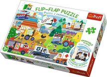 TREFL - Puzzle 36 Flip Flap vozidlá