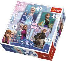 TREFL - Puzzle Frozen 4v1