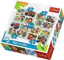 TREFL - Puzzle Paw Patrol: 4v1