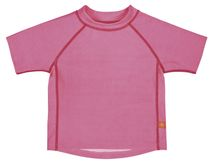 LÄSSIG - Tričko Rashguard Short Sleeve Girls - light pink XL