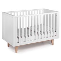 TROLL - SCANDY detská postieľka 120x60cm biela