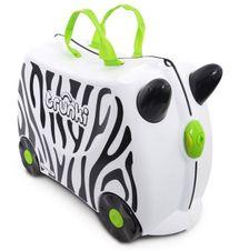 TRUNKI - Cestovný kufrík TRUNKI - Zebra