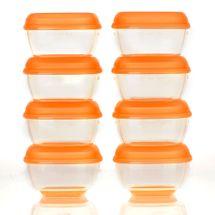 VITAL BABY - Misky do mrazničky mini 30ml - 8ks - oranžová