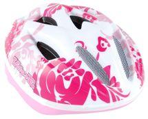 VOLARE - Detská prilba Deluxe, biela / ružová