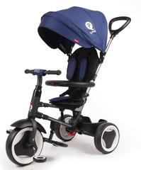 VOLARE QPLAY - Detská trojkolka, Tricycle Rito Deluxe, modrá