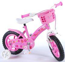 "VOLARE - Detský bicykel , Flowerie 12"" , Pink"