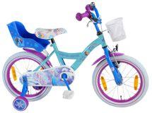 """VOLARE - Detský bicykel , Frozen 16"""", Blue, zložený na 95 %"""