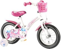 "VOLARE - Detský bicykel , Kanzone Giggles 12"", WHITE/PINK"