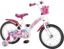 "VOLARE - Detský bicykel , Kanzone Giggles 16"", WHITE/PINK"