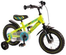 """VOLARE - Detský bicykel pre chlapcov , Electric Green ,,12"""" - zelený"""