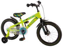 """VOLARE - Detský bicykel pre chlapcov , Electric Green ,,16"""" - zelený"""