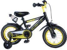 """VOLARE - Detský bicykel pre chlapcov , Freedom ,,12"""" - čierno -žltý"""