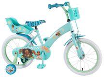 """VOLARE - Detský bicykel pre dievčatá, Disney Vaiana ,,16"""" - modrý"""