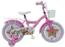 """VOLARE - Detský bicykel pre dievčatá, LOL Surprise ,,16"""" - ružový"""