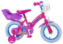 """VOLARE - Detský bicykel pre dievčatá, Shimmer & Shine ,,12"""" - ružový"""