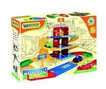WADER - Kid Cars 3D Garáž 3 poschodia