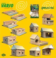 WALACHIA - Drevená stavebnica VARIO 72 dielov