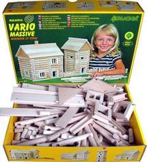 WALACHIA - Drevená stavebnica VARIO MASSIVE 209 dielov