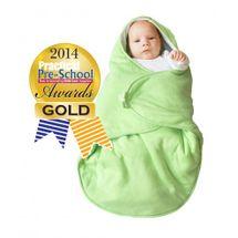 WALLABOO - Detská deka Coco, Green
