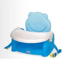 WEINA - Stolička k stolu TEDDY BEAR - modrá