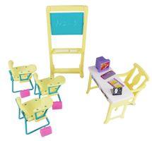 WELL TOYS - Gloria školská trieda set nábytok