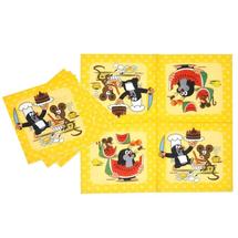 WIKY - Detské papierové servítky Krtek - 12 kusov