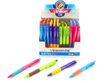 WIKY - Guľôčkové pero Vinson - modrá