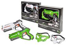 WIKY - Pištoľ laserová + maska 1ks
