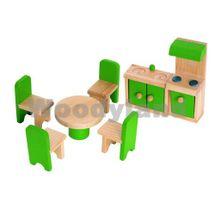 WOODY - Nábytok do domčekov - kuchyňa s jedálňou
