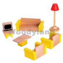 WOODY - Nábytok do domčekov- obývačka