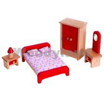 WOODY - Nábytok do domčekov - spálňa