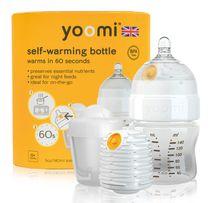 YOOMI - dojčenská fľaša, ohrievač a cumlík 5oz Bottle / Warmer / teat / Pod - Y15B1W1P