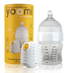YOOMI - dojčenská fľaša, ohrievač, cumlík 5oz Bottle / Warmer / Teats - Y15B1W