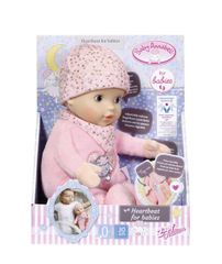ZAPF - Baby Annabell Heartbeat For Babies, 30Cm