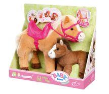 ZAPF - Baby Born Interaktívny Kôň So Žriebätom