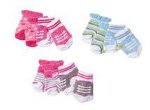 ZAPF - Baby Born Ponožky (2 Páry), 3 Druhy