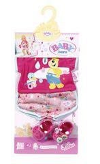 ZAPF - Baby Born pyžamo a papučky, 43 Cm