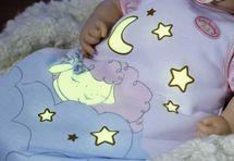 ZAPF CREATION - Baby Annabel Spací vak Sladké sny 700075