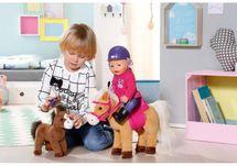 ZAPF CREATION - BABY Born Interaktívny kôň so žriebätkom 822371