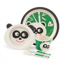 ZOPA - Bambusová sada riadu, Panda